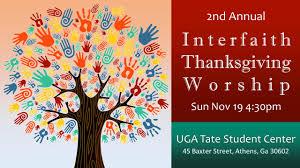interfaith thanksgiving service nov 19 unitarian universalist