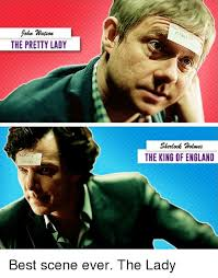 Sherlock Holmes Memes - hn watson the pretty lady sherlock holmes the king of england best
