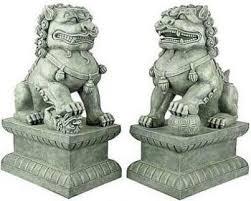 lion dog statue foo dogs foo dog fosterginger