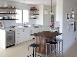 contemporary counter height table counter height table kitchen modern with cabinet front refrigerator