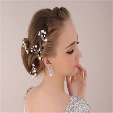 prom hair accessories cheap white bridal hair pins accessory wedding prom hair clip