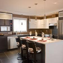 cuisine 2 couleurs mobilier table cuisine deux couleurs