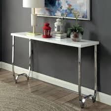 Contemporary Sofa Table by Chrome Console U0026 Sofa Tables You U0027ll Love Wayfair