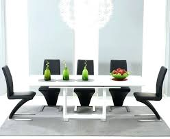 black and white kitchen table white high gloss dining table moneyfit co