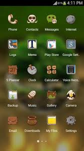 android theme green nature hd theme comic android themes free free android
