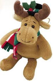 cuddly collectibles plush moose ornaments