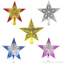 hollow christmas tree top stars stereo santa tree topper star