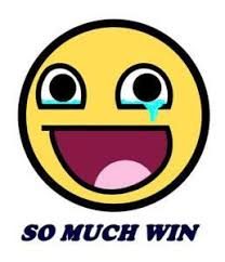 Epic Win Meme - epic smiley so much win meme peel and stick vinyl decal sticker