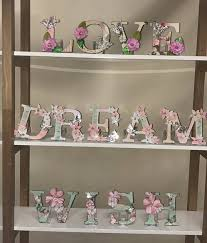 mdf letters kit uppercase 44 pieces dawn bibby creations craft