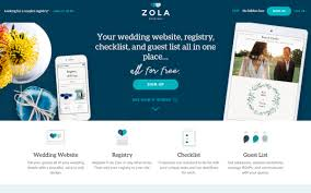 registry wedding website top five places to build your wedding website weddingbee