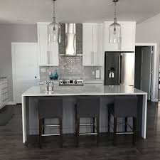 marble island kitchen waterfall island kitchen luxury granite quartz marble countertops