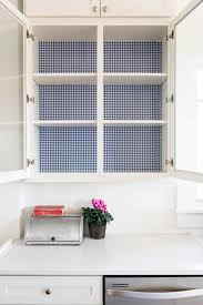 corner kitchen cabinet liner give your kitchen a colorful makeover on the cheap hgtv