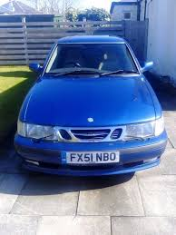 saab 9 3 2 0 turbo se 2002 5 door blue full service history