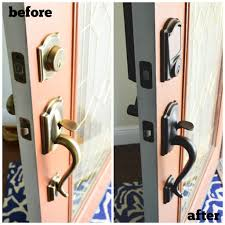 before and after front door locks from schlage 1024x1024 jpg