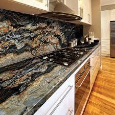 Black Stone Backsplash by 33 Best Vivid Blue Granite Countertops Images On Pinterest Blue