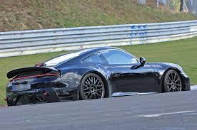 Porsche 911 Hybrid - next porsche 911 spotted testing at nürburgring motorarticles