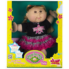 amazon com cabbage patch kids doll rock star caucasian