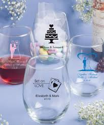 cheap personalized stemless wine glasses bulk from 1 18