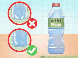 How To Do Challenge Water How To Do The Water Bottle Flipping Challenge 6 Steps