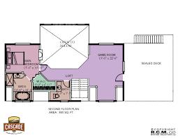Cascade Floor Plan Log Home Floor Plans 1500 2400 Sq Ft Cascade Handcrafted Log Homes