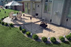 Backyard Concrete Patio Designs Biondo Cement Sted Concrete Exposed Aggregate Concrete
