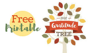 free printable thanksgiving gratitude tree southern savers