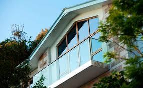 balkon edelstahlgel nder edelstahlgeländer glasplatten außen für balkon by