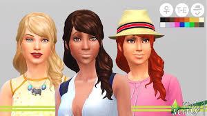 cc hair for sism4 sims 4 cc hair sims community social