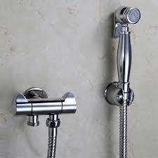 Hand Held Bidet Australia Aliexpress Com Buy Brass Hand Held Bidet Shower Set Toilet Jet