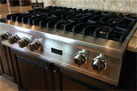 kitchen the jenn air 36 gas downdraft cooktop from within with