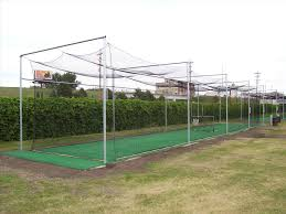 installed backyard backyard batting cage ideas obstacle course