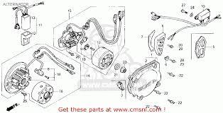 honda cr125r 1989 k usa alternator schematic partsfiche