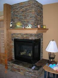 how to build a corner fireplace mantel and surround round designs