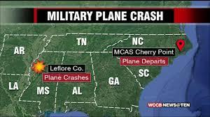 Camp Lejeune Map Seven Plane Crash Victims From Camp Lejeune Wccb Charlotte