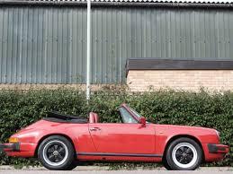 porsche classic convertible 1987 porsche 911 3 2 cabriolet coys of kensington