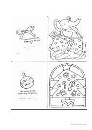 christmas card templates worksheet u2013 free esl printable worksheets