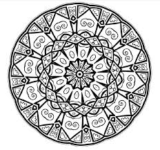 Color Mandalas Free Background Coloring Color Mandalas