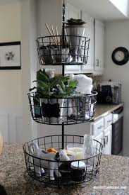 kitchen basket ideas kitchen storage ideas 3 tier wire rack my from home www