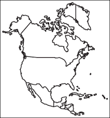 america map political blank free vector american maps