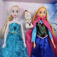 frozen doll elsa anna olaf cartoon cute beauty toys action