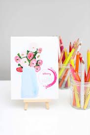holiday gifting diy kids desk art calendar