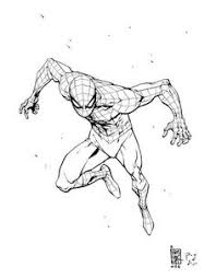 spiderman drawing comic art to draw pinterest spiderman
