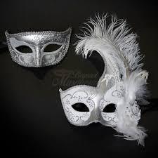 silver mask silver masquerade mask ebay