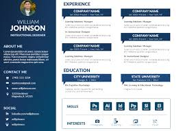 Free Visual Resume Templates Download U2013 Mike Taylor