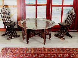 Orientalische Esszimmer 97 ø Cm Orientalische ägyptisch Tablett Teetisch Tisch