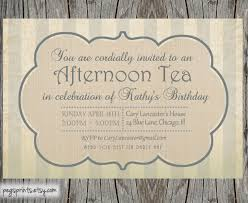 high tea invitation template party idees pinterest high tea