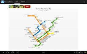 Montreal Metro Map Montreal Metro Android Apps On Google Play