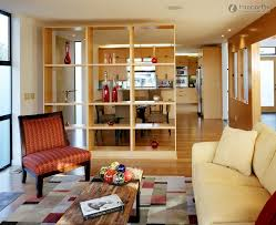 bookcase room dividers ideas living room kitchen dividers living