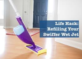 Can Swiffer Be Used On Laminate Floors Cleaning Green Refilling A Swiffer Wet Jet