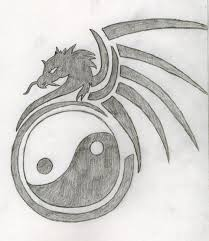 yin and yang dragon tattoo drawing xxsoulsurvivorxx 2018 may